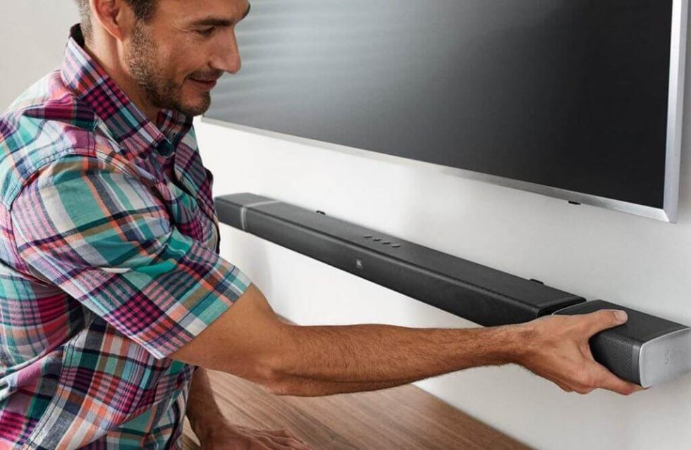 JBL Bar 5.1 4K Ultra HD 5.1-Channel Soundbar with True Wireless Surround Speakers