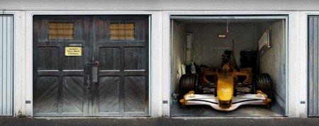 style your garage coolest gadgets. Black Bedroom Furniture Sets. Home Design Ideas