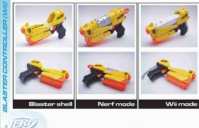 Nerf and Wiimote