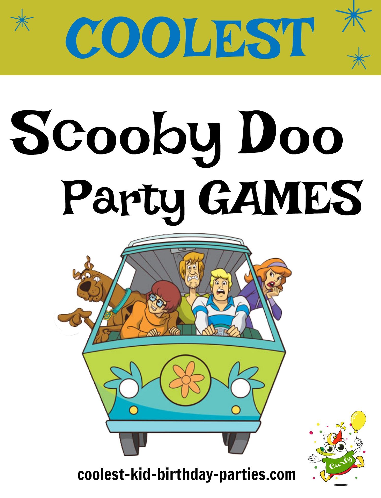 Coolest Scooby Doo Game Ideas For Birthdays