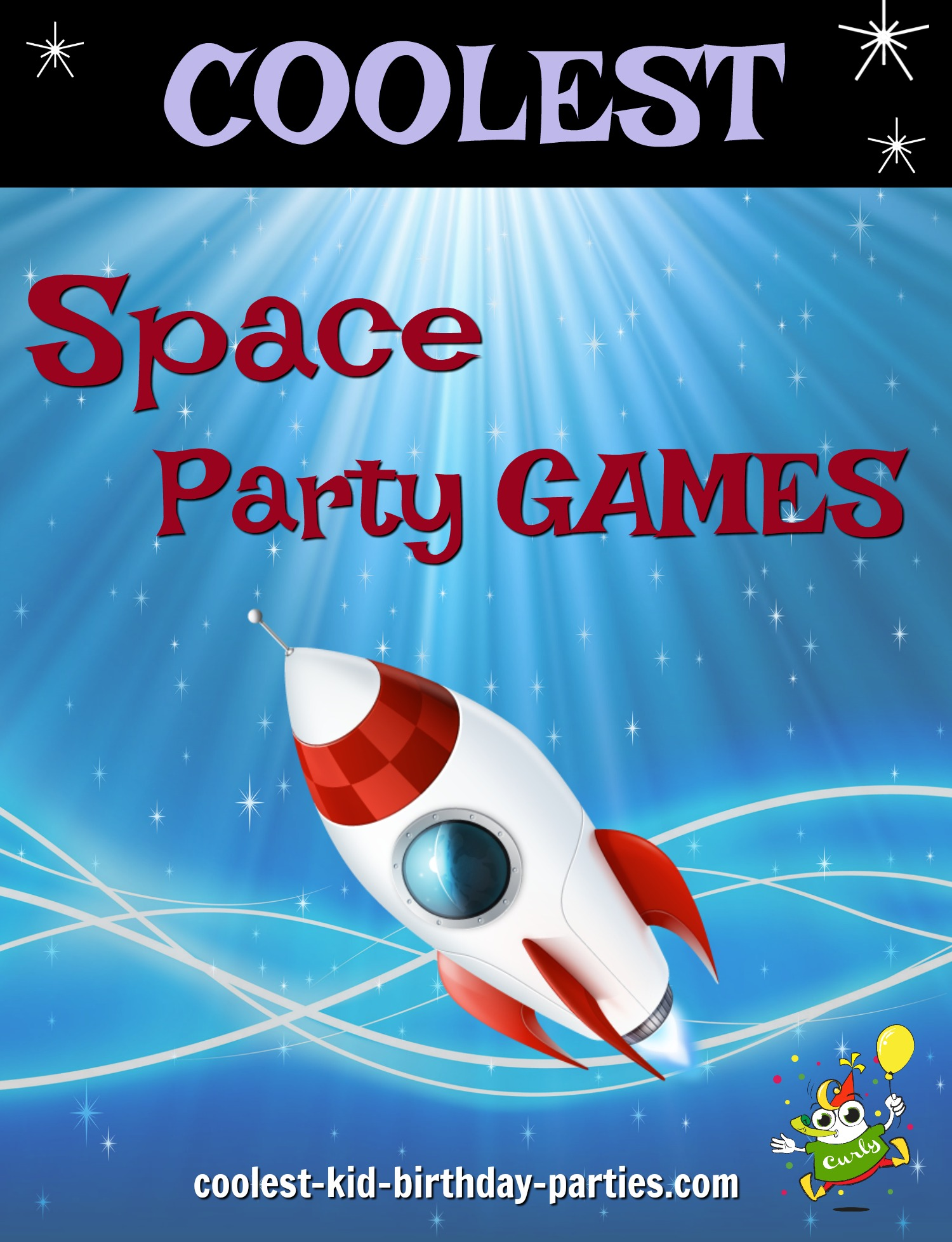 Coolest Space Child Party Games