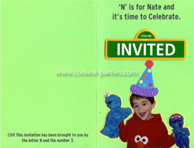 sesame street and elmo birthday party ideas