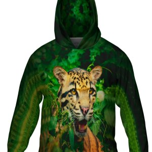 Jungle Leopard hoodie lg