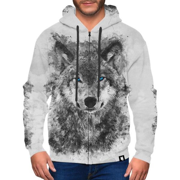 White Wolf Hoodie