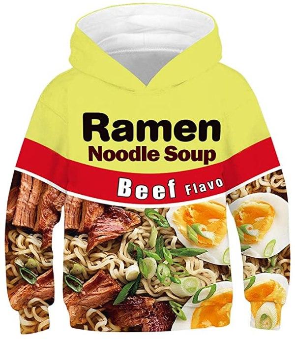 Beef Ramen Noodle Hoodie