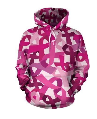 Pink Breast Cancer Hoodie