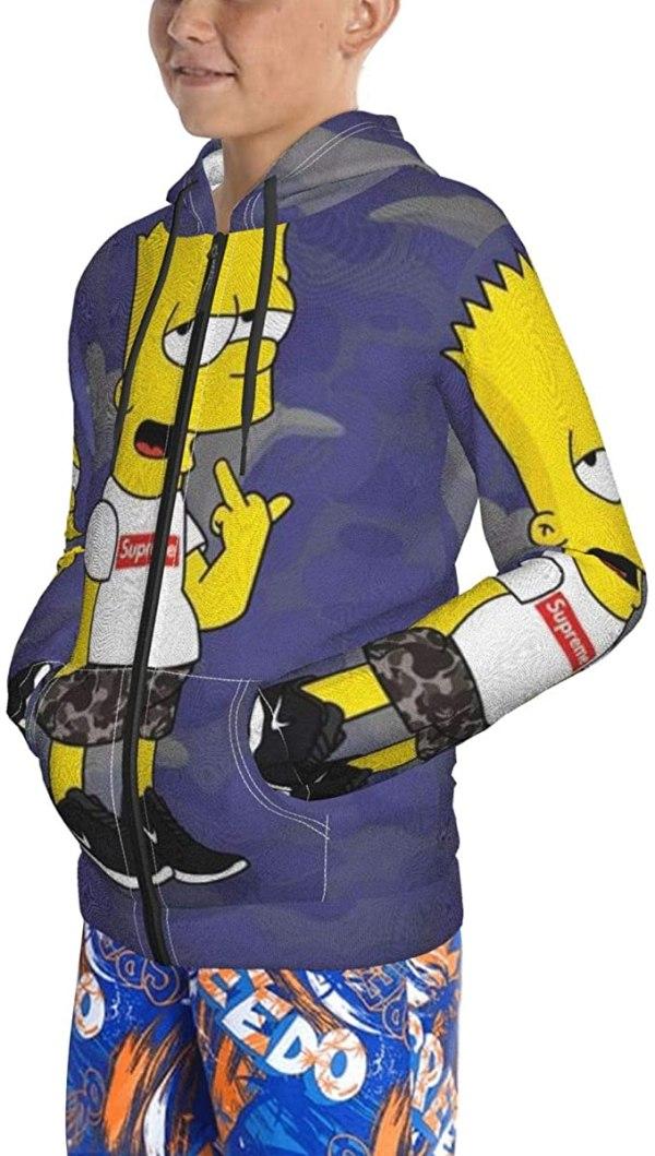Cool Bart Simpson Hoodie