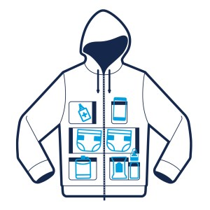 Dad Hoodie with lots of pockets