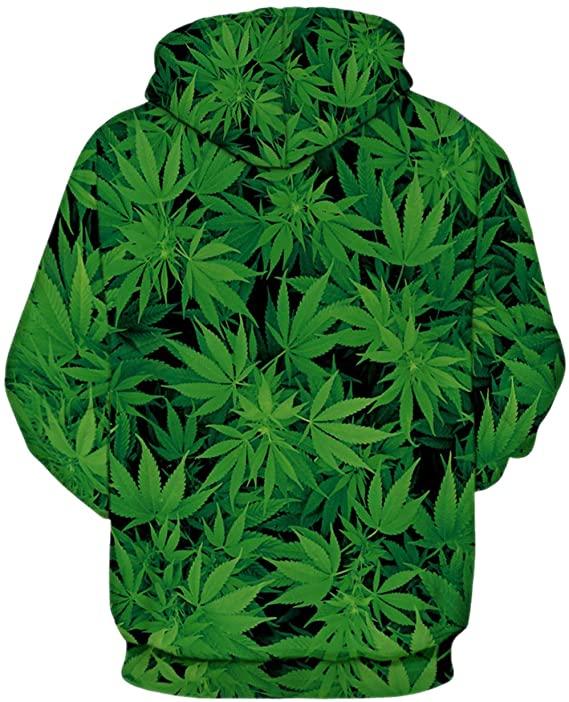 Marijuana Plant Hoodie