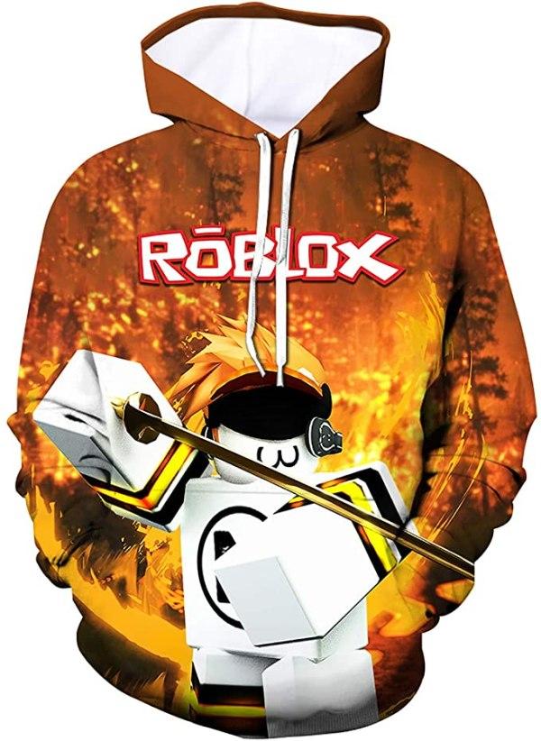 Roblox Hoodie with Golden Sword