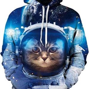 Cat in Space Hoodie