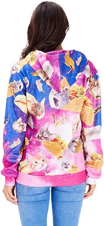 Taco Cat Hoodie for Women