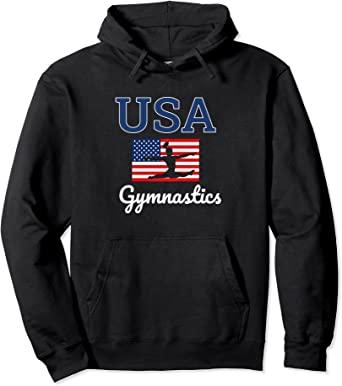 USA Gymnastics Hoodie in Black 2021