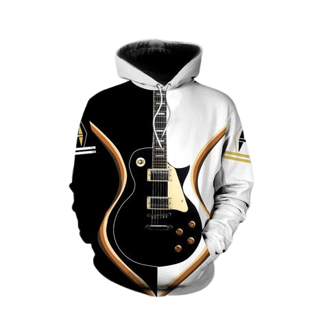 Bass Guitar Hoodie