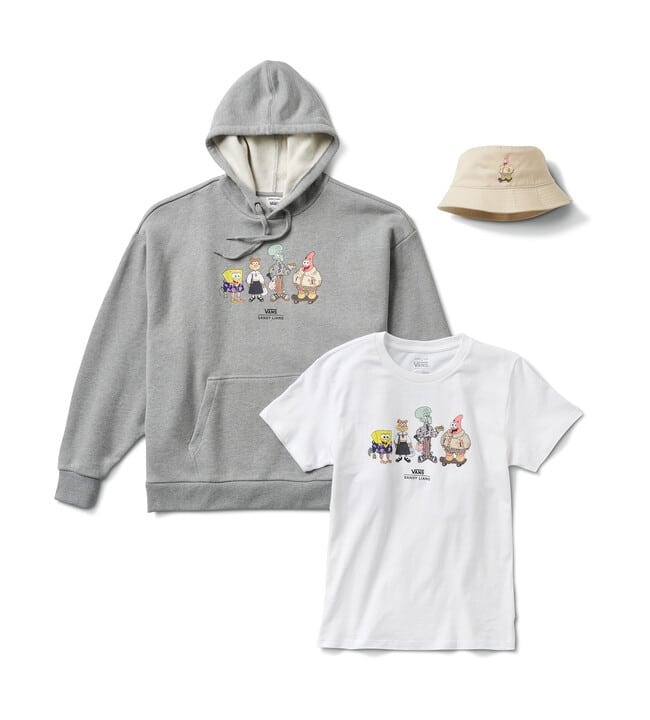 Sponge bob kleding collectie
