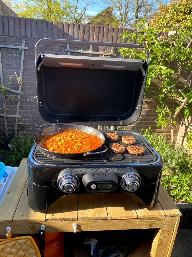 campingaz paella burger