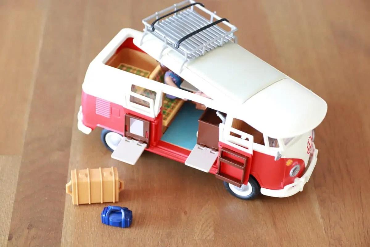 playmobil Volkswagen T1 kampeerbus recensie 4