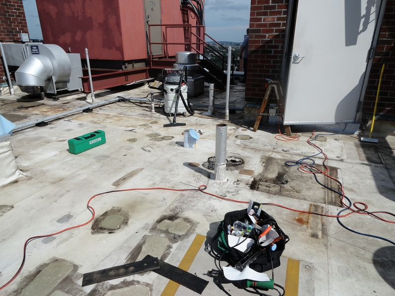 Duro Last Roofing Flat Roof Sentry Inc