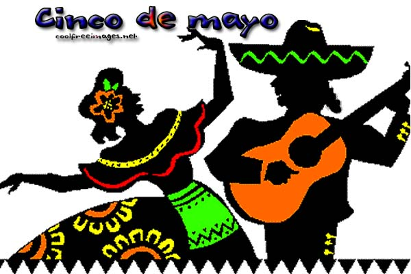 Free Orkut and My Space Cinco de Mayo Graphics Glitters