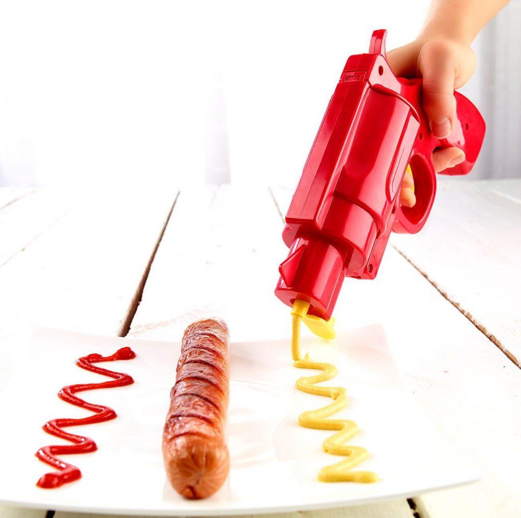 Ketchup Pistole witziges Gadget 2