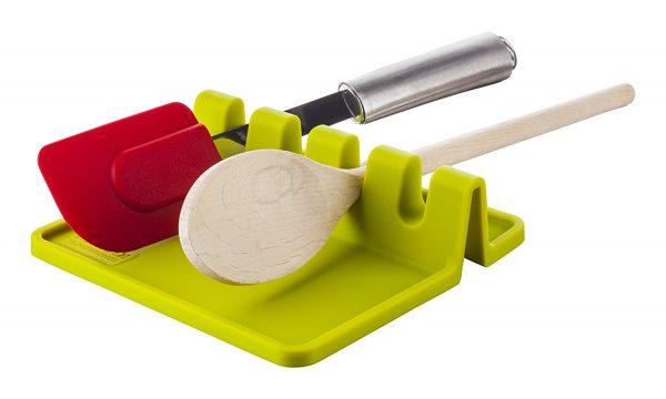 Küchenutensilienablage - Küchenutensilienhalter Kellenhalter Grün