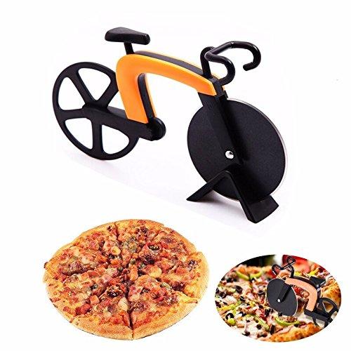 Pizzaschneider im Fahrrad Design Küchen Haushalts Gadget 3