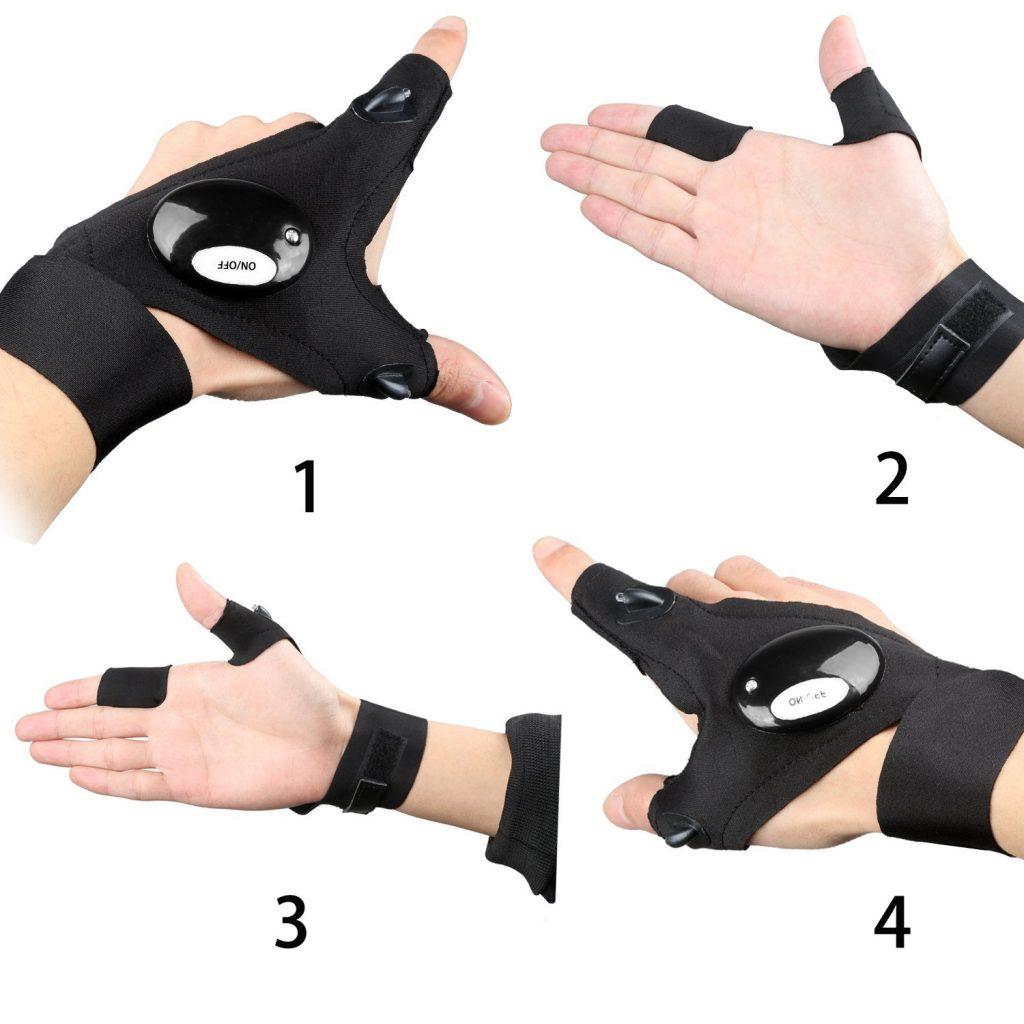 Taschenlampen Handschuh Outdoor Gadget 2