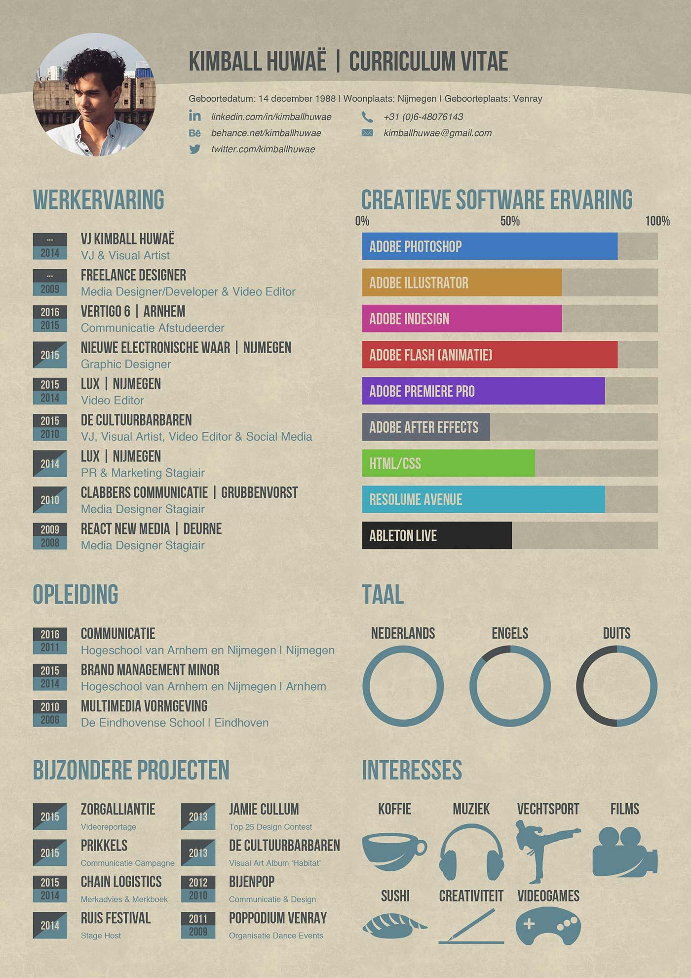 Infographic Hoe goed is jouw curriculum vitae
