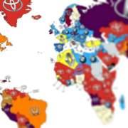 Wat is de meest gezochte auto per land