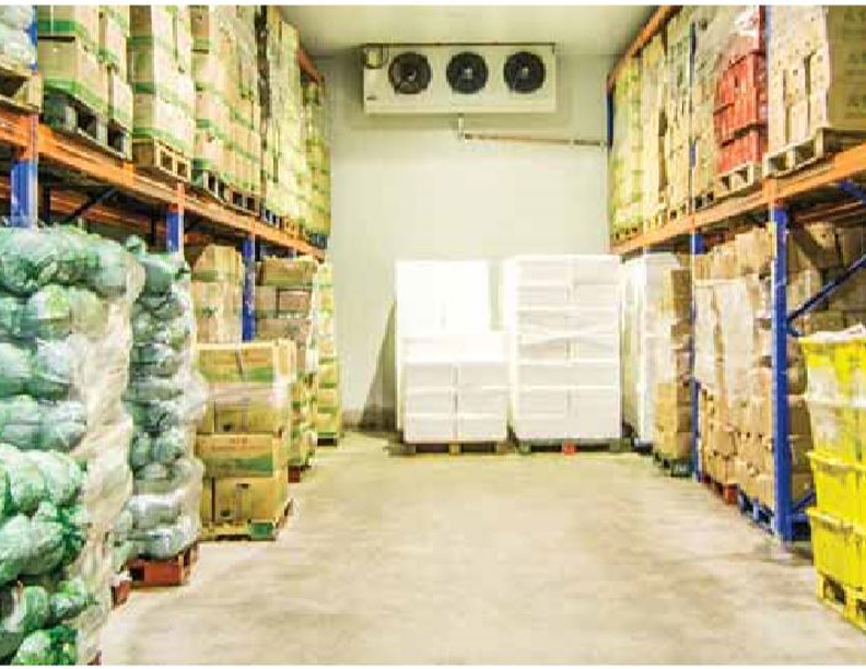 Design of Cold Storage for Fruits & Vegetables - Cooling
