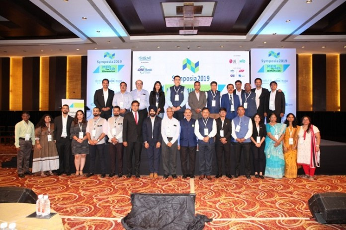 : HVACR industry articles  Heating, Ventilation, Air conditioning and Refrigeration  AC & Ventilation, Refrigeration, Air Quality, Chillers, Cold Storage, Heating, Water Treatment, Commercial, Industrial HVACR, Hospital HVACR   ISHRAE organises National Program SYMPOSIA 2019 - Cooling India Monthly Business Magazine on the HVACR Business   Green HVAC industry   Heating, Ventilation, Air conditioning and Refrigeration News Magazine Updates, Articles, Publications on HVACR Business Industry   HVACR Business Magazine