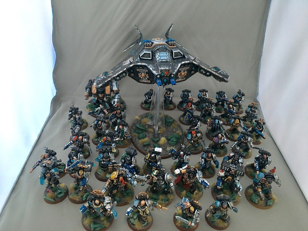 CoolMiniOrNot Deathwatch Army By W817rogier