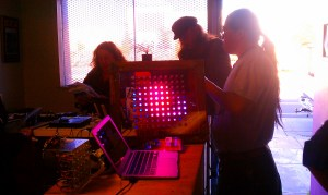 Total Control Lighting - at Cool Neon Funhouse Productions