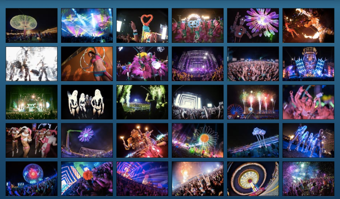 electric daisy montage