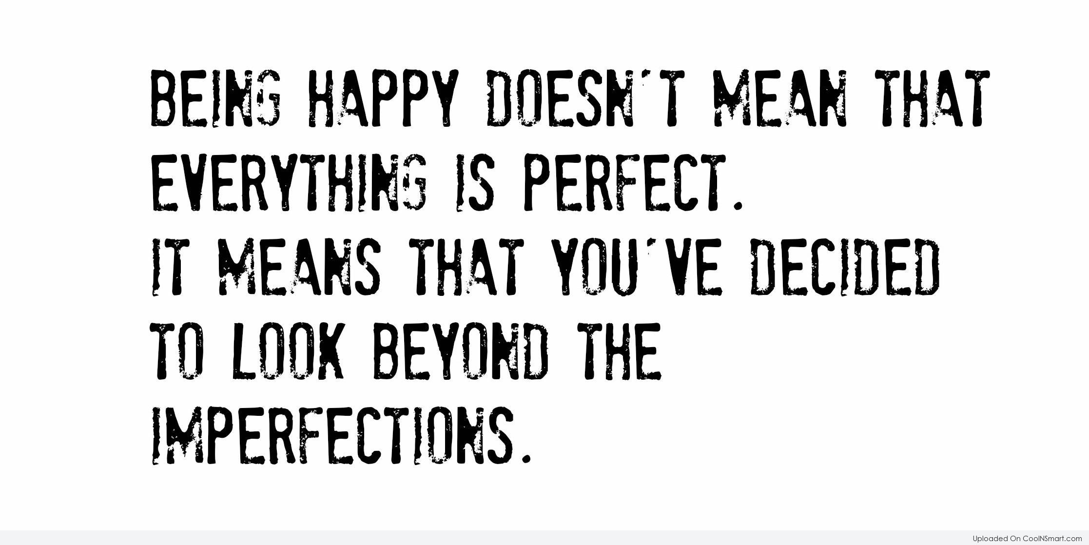 Image result for perfection quotes