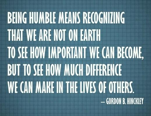 Quotes On Modesty And Humility