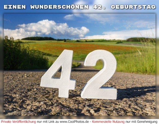 Depesche 5698 057 Gluckwunschkarte Mit Musik 42 Geburtstag