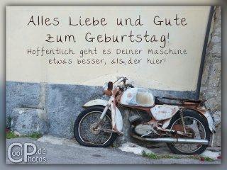 Geburtstagswunsche Fur Manner Motorrad Unique Lustige