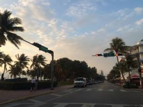 Ocean Drive am Morgen