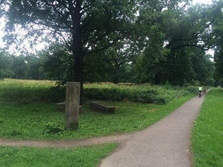 Elberadweg trifft Mulderadweg in Dessau