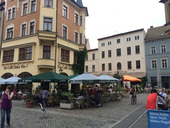 Historische Altstadt – Marktplatz von Wittenberg
