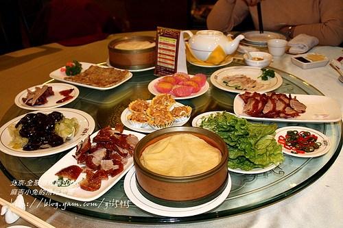 2005北京【全聚德烤鴨店】前門店 @麻吉小兔吃貨旅行團