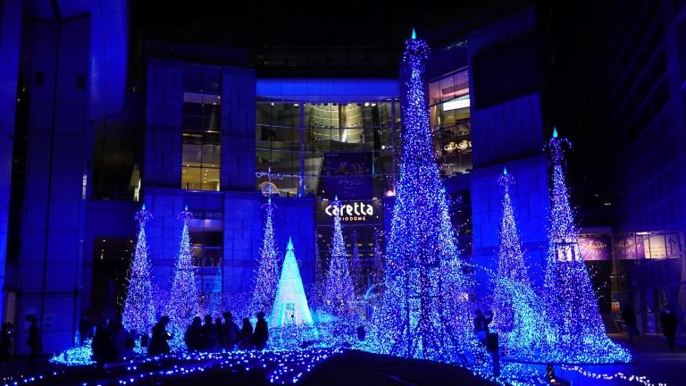 東京耶誕點燈【汐留Caretta 表參道 迪士尼】 @麻吉小兔吃貨旅行團