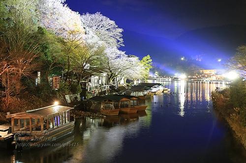 京都嵐山花灯路02