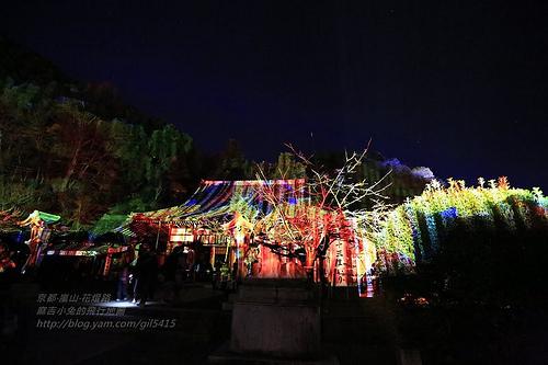 京都嵐山法輪寺花灯路05