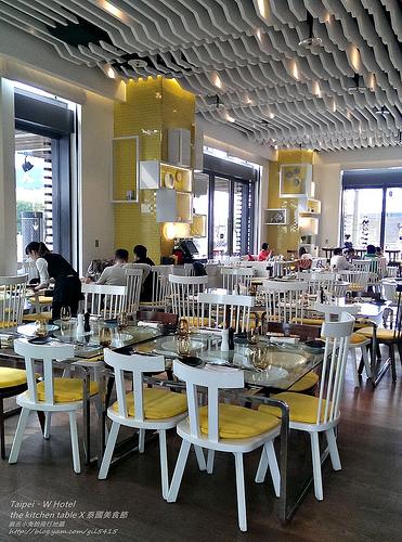 期間限定!台北W Hotel【The Kitchen Table。泰國美食節】 @麻吉小兔吃貨旅行團