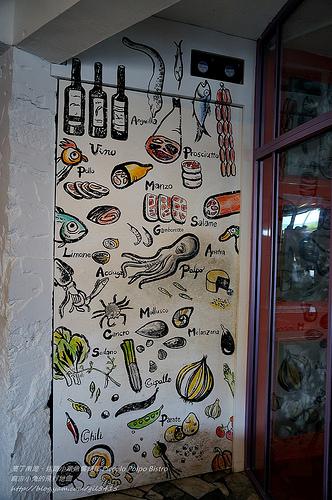 墾丁南灣美食【迷路小章魚餐酒館 Piccolo Polpo Bistro】隔壁阿伯每天抓的海鮮料理很有梗! @麻吉小兔吃貨旅行團