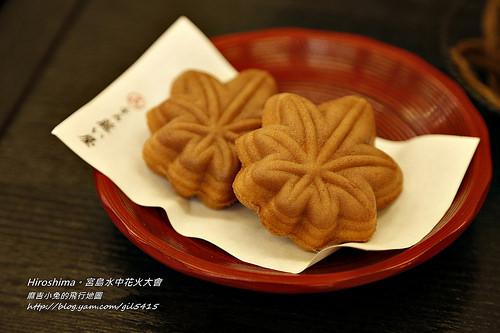 日本廣島【宮島】美食:廣島牡蠣、楓葉點心、楓葉天婦羅 @麻吉小兔吃貨旅行團