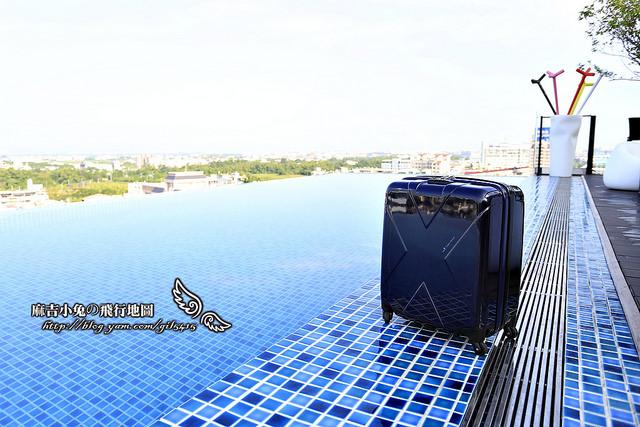合作開箱:日本設計師若松秀夫時尚登機箱【Hideo-Max Cabin系列超輕量19吋鋁框登機箱】 @麻吉小兔吃貨旅行團