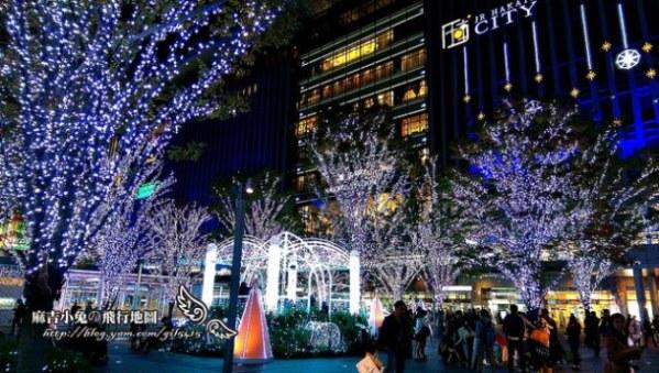 博多駅耶誕點燈【光の街。博多】JR博多シティ アミュプラザ博多(by HTC M8) @麻吉小兔吃貨旅行團
